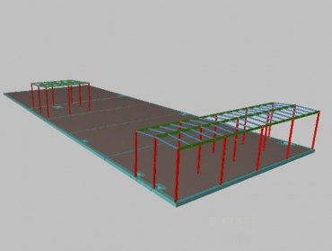 STRUCTURAL CALCULATION OF CONCRETE SLAB AND METAL STRUCTURE FOR HYDRAULIC WASTERWATER  ELEMENTS.